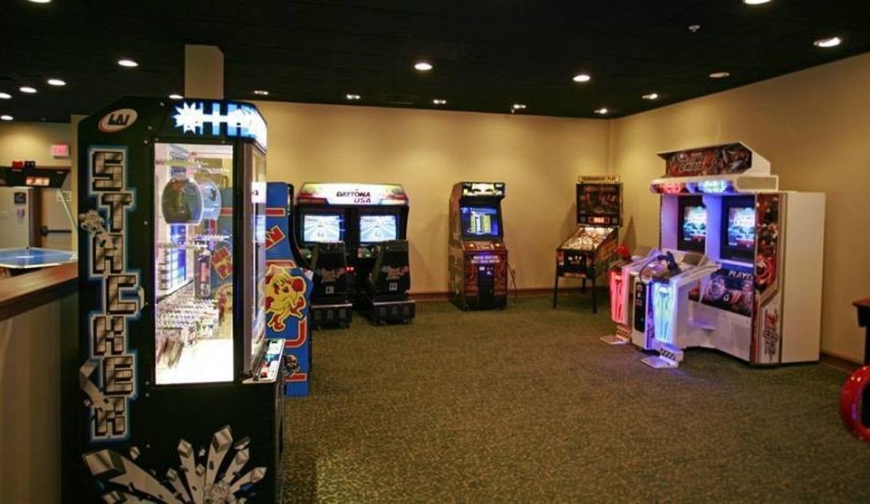recreation room games machine