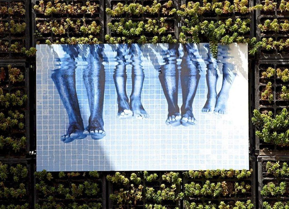 botany art Garden flower memorial rack