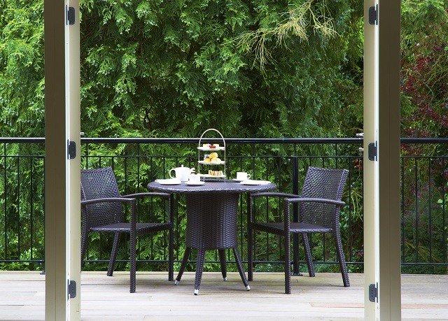 tree chair building outdoor structure backyard porch Garden door