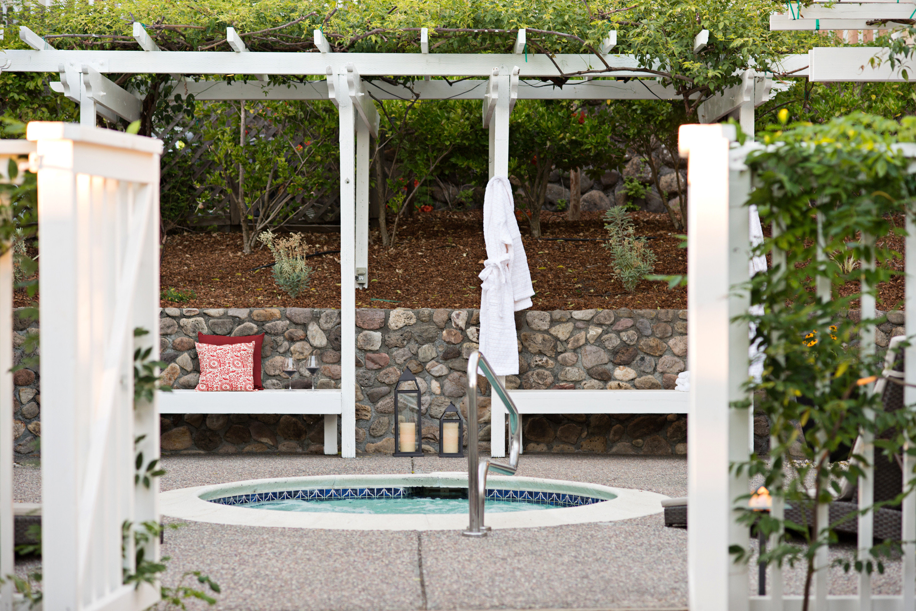 backyard outdoor structure pergola Garden porch