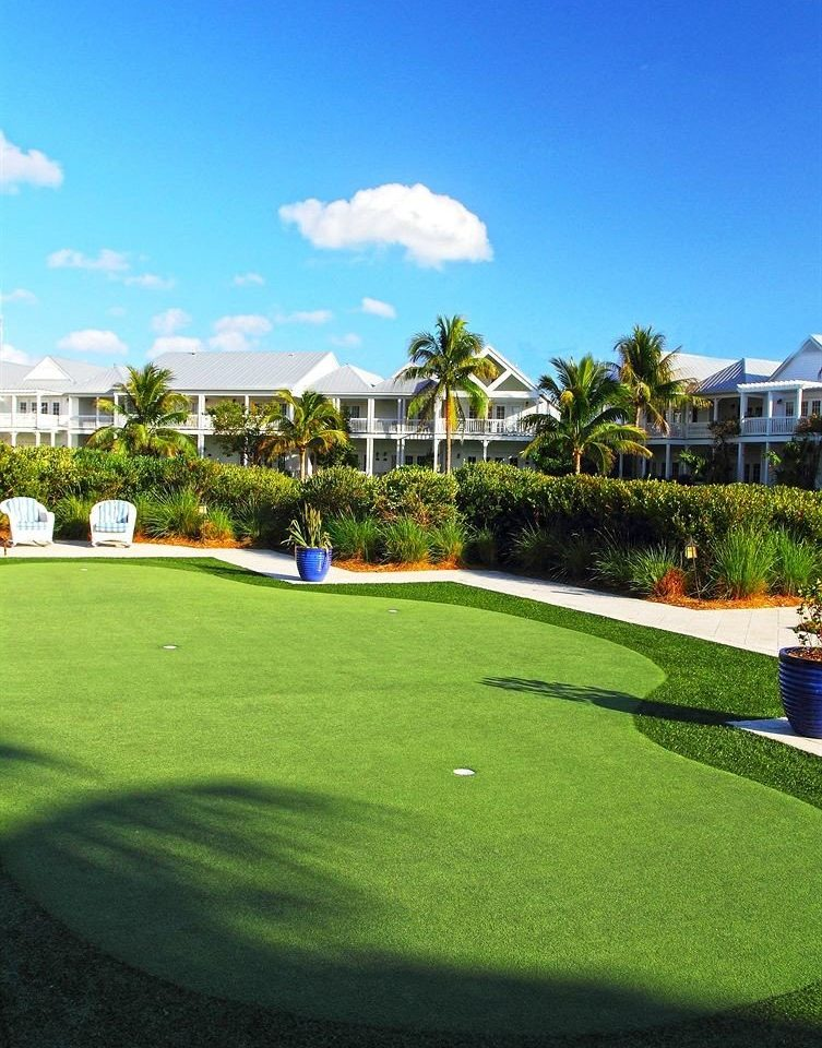 grass sky Golf structure leisure lawn sport venue field golf course sports outdoor recreation green golf club baseball field grassy recreation lush day Garden Resort