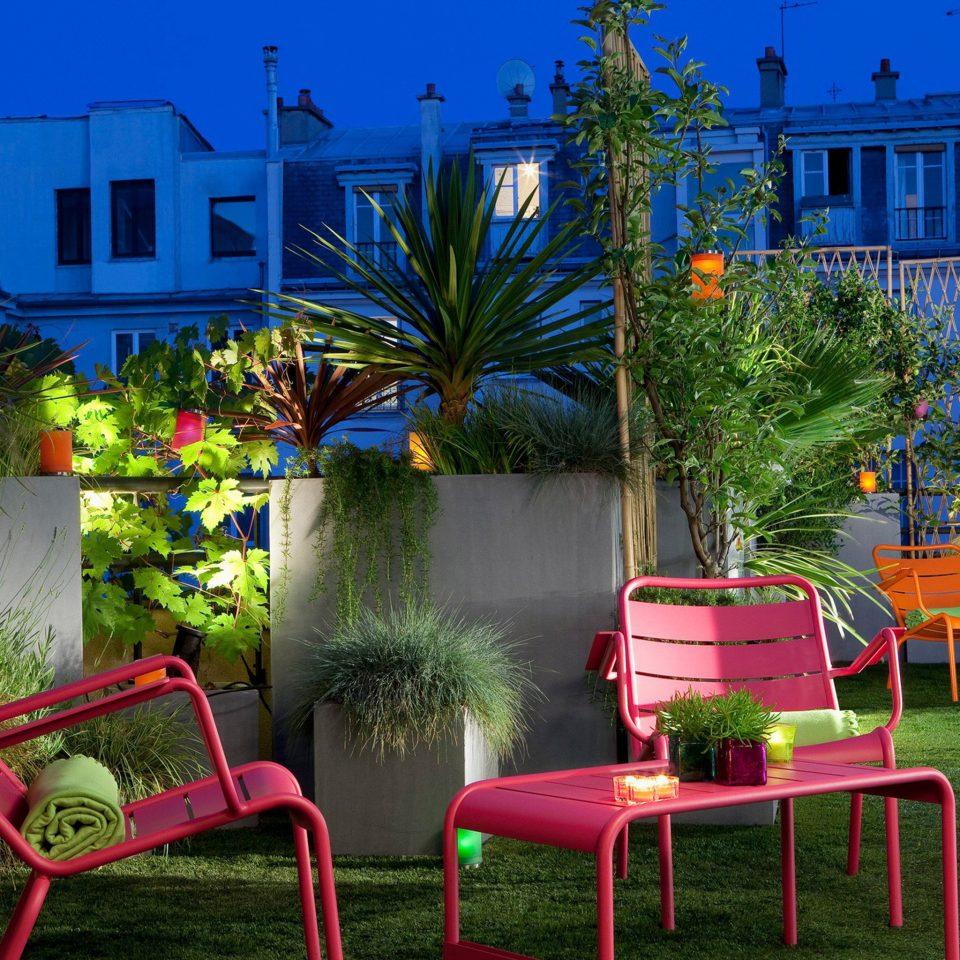 Hip Lounge Luxury Modern tree chair leisure house backyard flower lawn home Resort yard Garden colorful