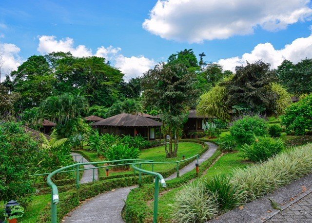 tree sky property ecosystem Resort Jungle Garden botanical garden Villa Village plant surrounded
