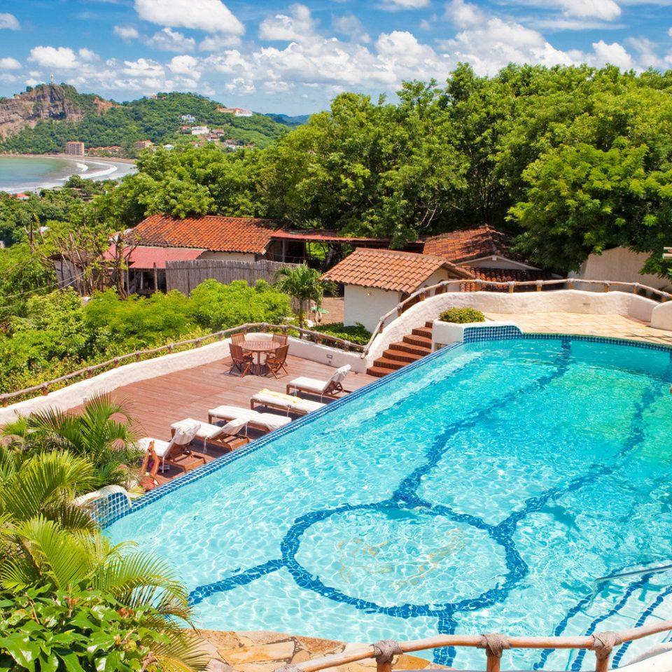 Luxury Pool Rustic Scenic views Tropical swimming pool leisure property Resort mountain Villa backyard Village Garden