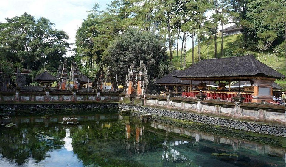tree water River Resort waterway Nature temple Village pond Garden shrine long traveling
