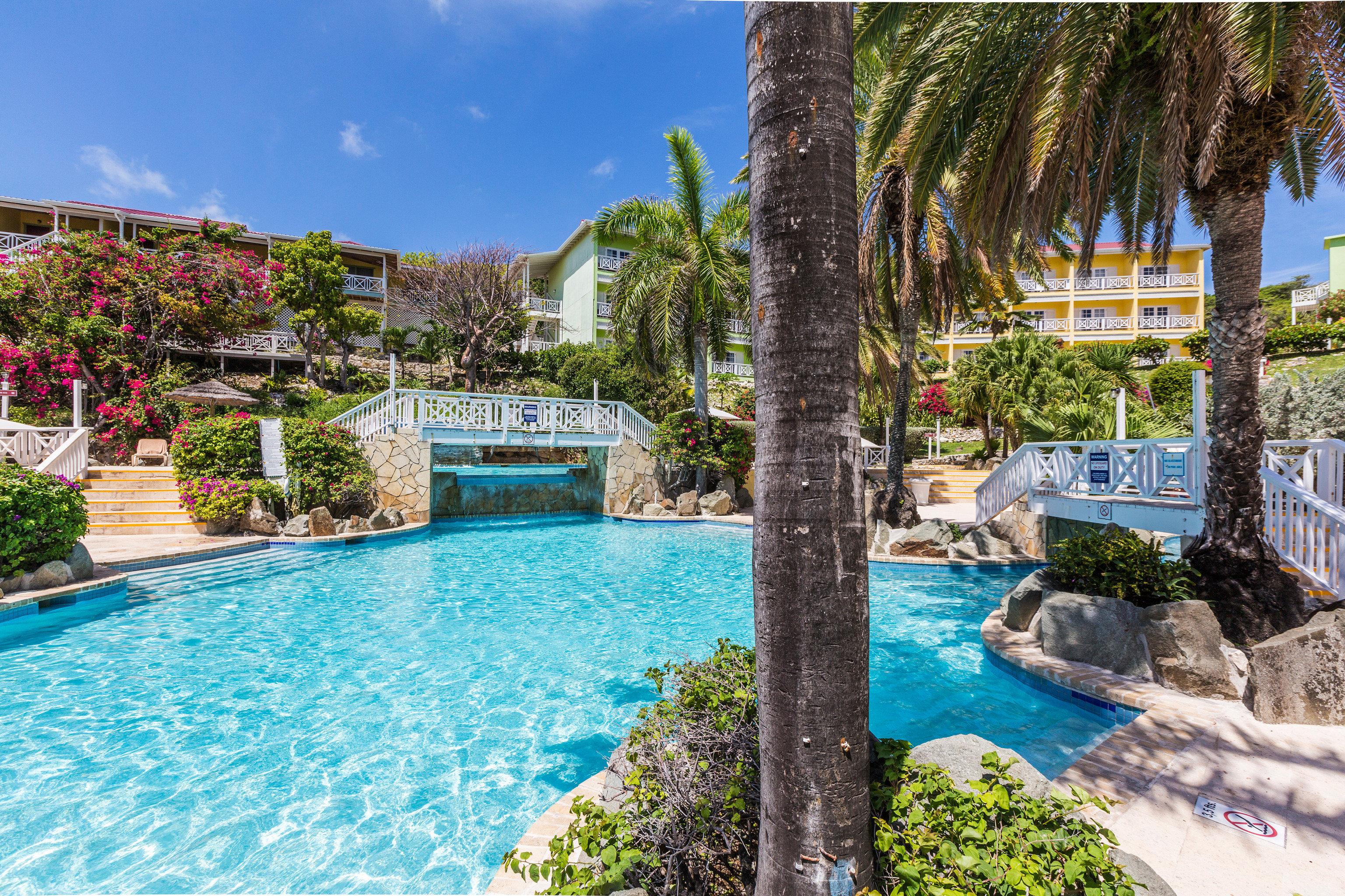 tree swimming pool property leisure Resort condominium resort town Pool Villa backyard Water park Garden