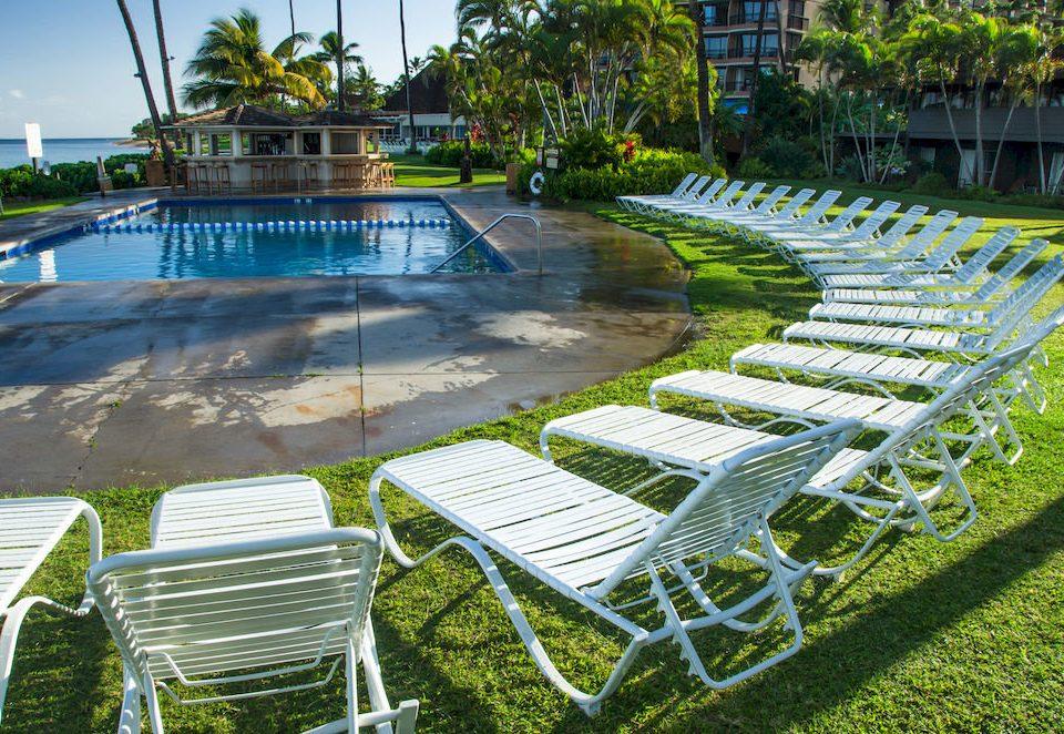 grass leisure swimming pool backyard Garden lawn park Resort landscape architect outdoor structure condominium