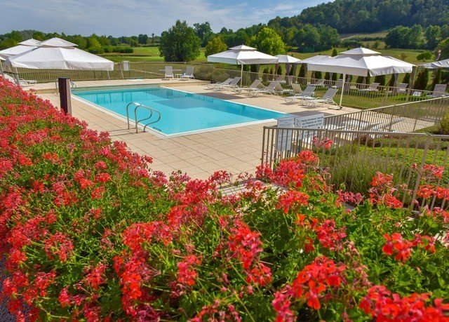 tree flower property Garden lawn swimming pool Resort backyard