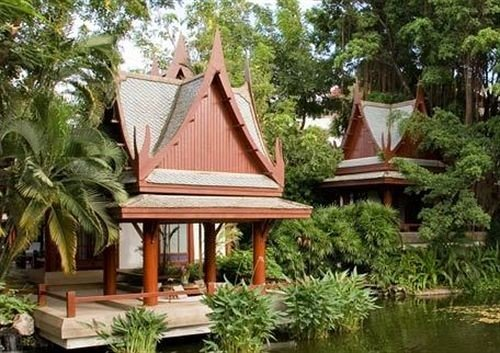 tree building palm temple Resort wat place of worship plant shrine eco hotel outdoor structure Garden shinto shrine pagoda shade