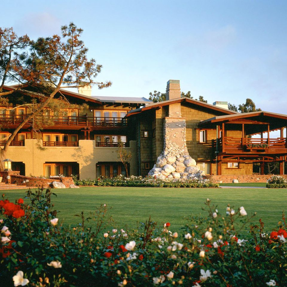 sky grass tree building house home Resort palace flower Garden