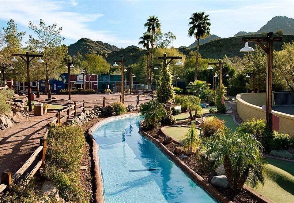 sky tree property swimming pool Resort Villa backyard Garden plant