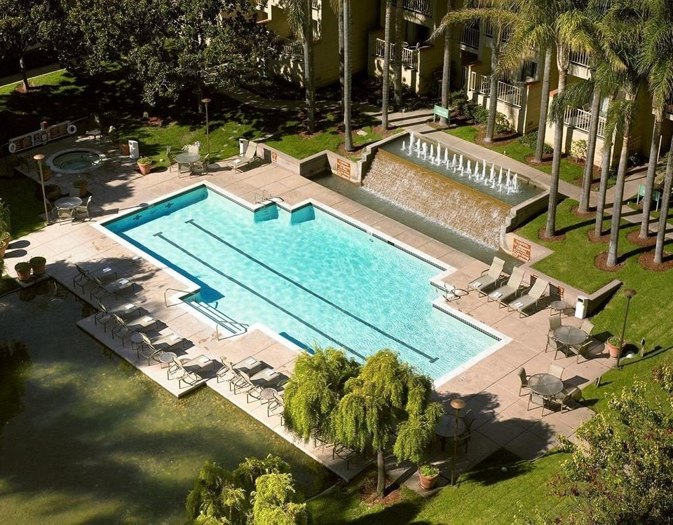 tree swimming pool leisure property backyard Resort mansion reflecting pool Villa Garden park landscape architect yard pond plant