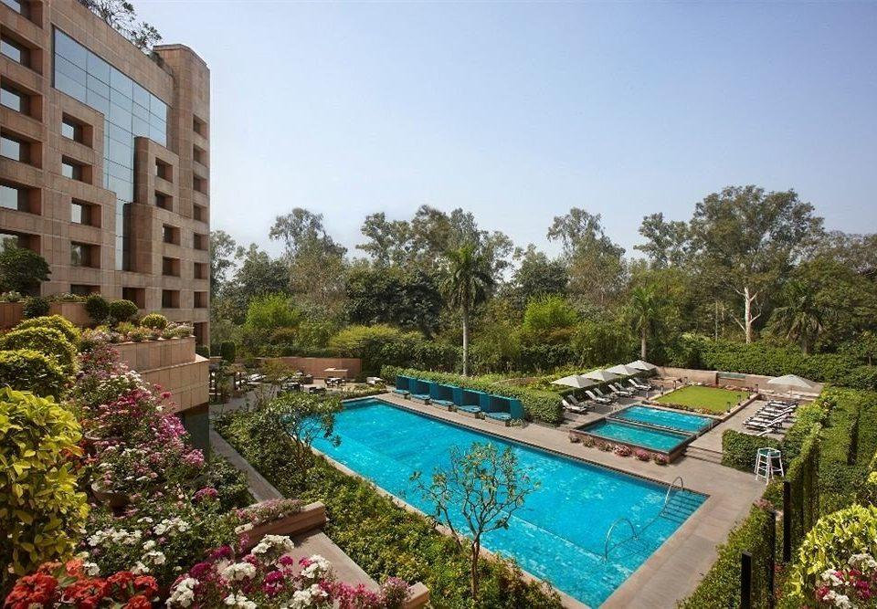 tree sky property swimming pool Resort condominium Villa mansion backyard Garden colorful