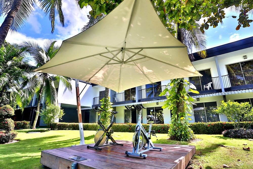 tree Resort house home tent backyard Villa pavilion outdoor structure Garden cottage shade