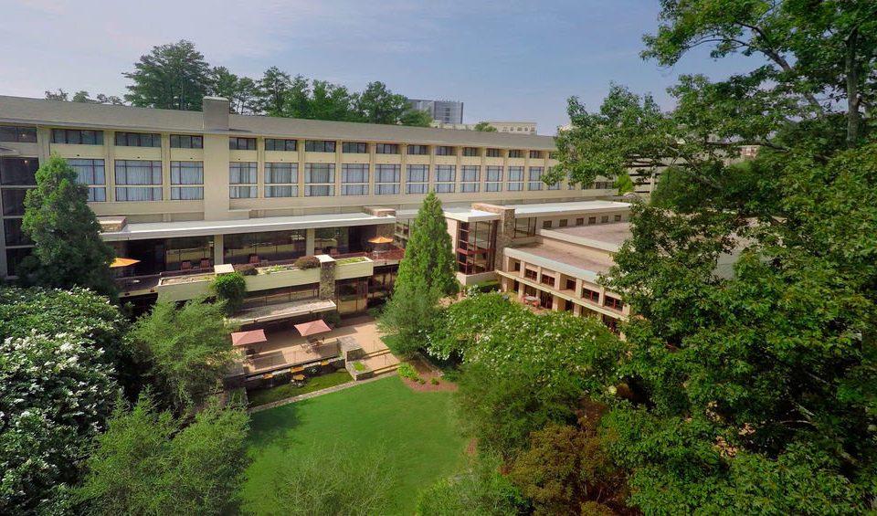 tree grass property building green condominium Resort mansion Villa Garden palace bushes