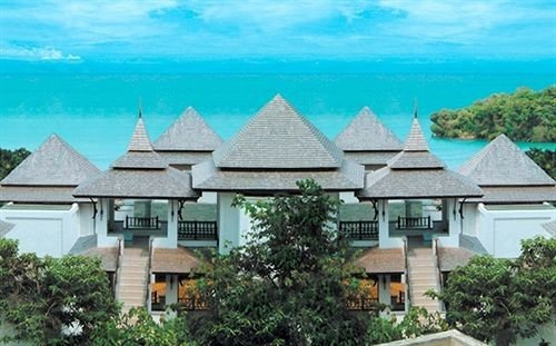 building tree house property Resort home residential area Villa cottage Village mansion roof residential Garden stone