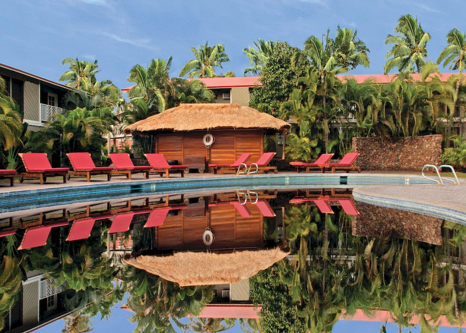 tree sky leisure Resort swimming pool amusement park Water park walkway Village Villa Garden