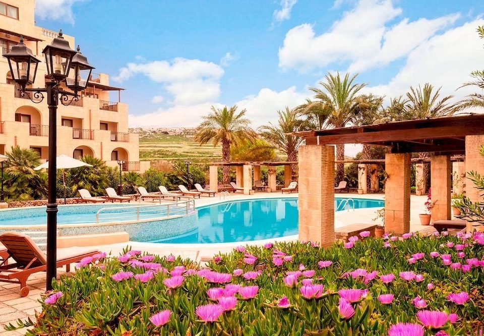sky flower property Resort leisure swimming pool Villa home hacienda palace mansion backyard Village Garden
