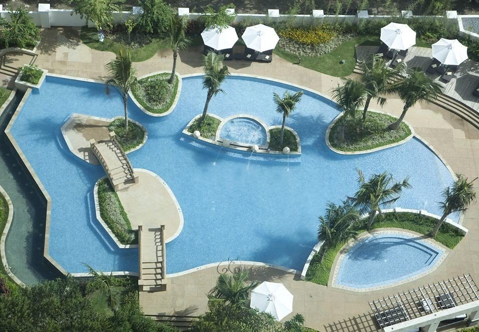 swimming pool mansion aerial photography condominium urban design plaza Resort Water park town square landscape architect waterway park plant set Garden arranged