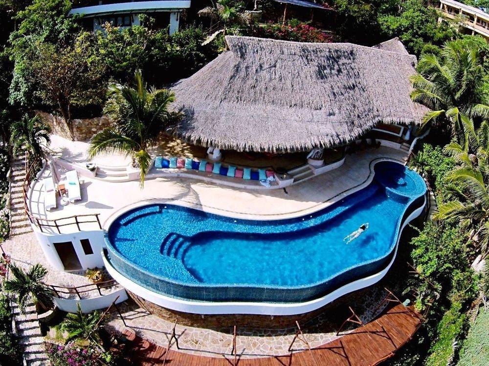 tree swimming pool leisure amusement park Resort ecosystem Water park backyard park Garden pond blue mansion water feature