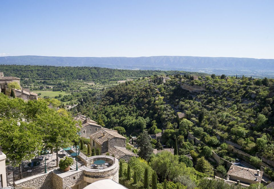 mountain sky property Town Village residential area hill plant tours panorama aerial photography Garden hillside stone