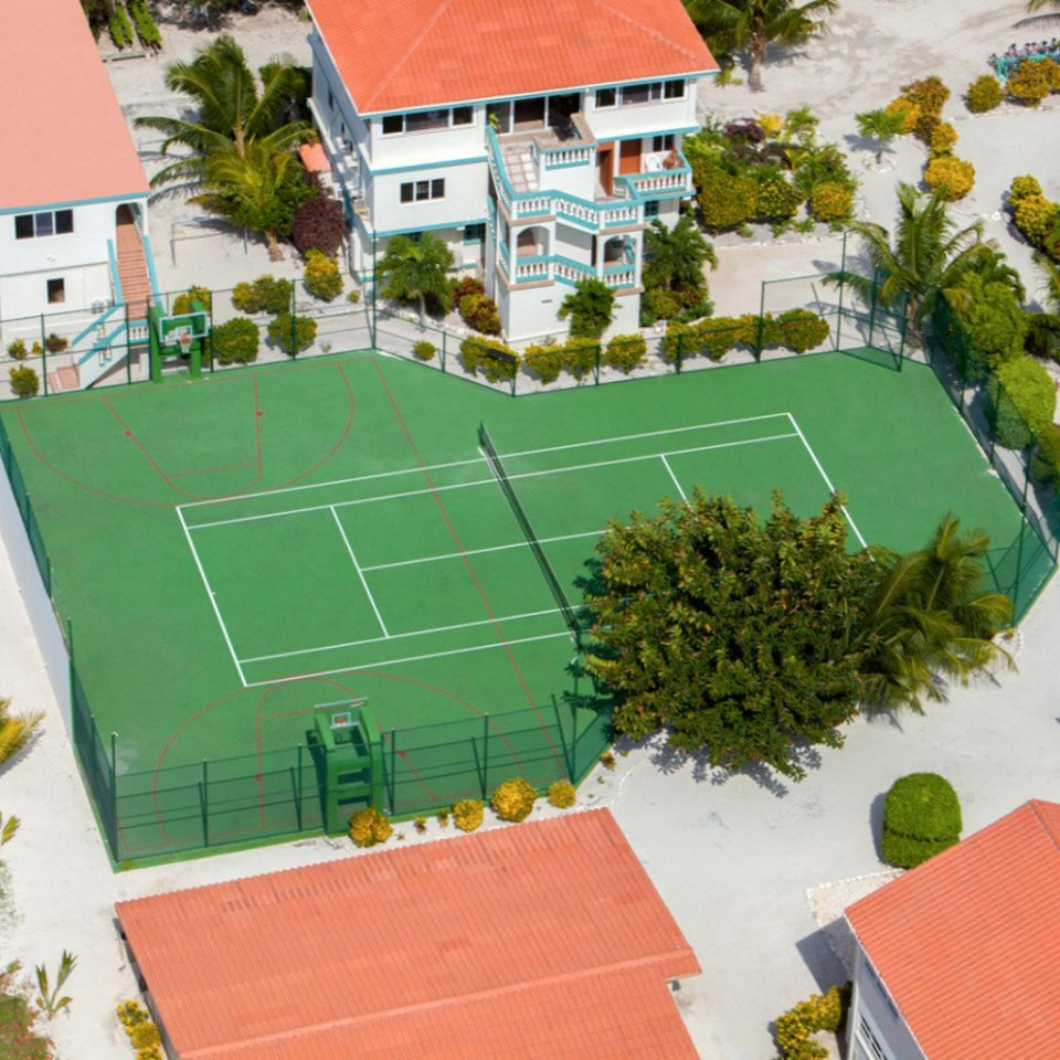tree property structure residential area neighbourhood house home sport venue green mansion aerial photography suburb Garden Villa stadium campus