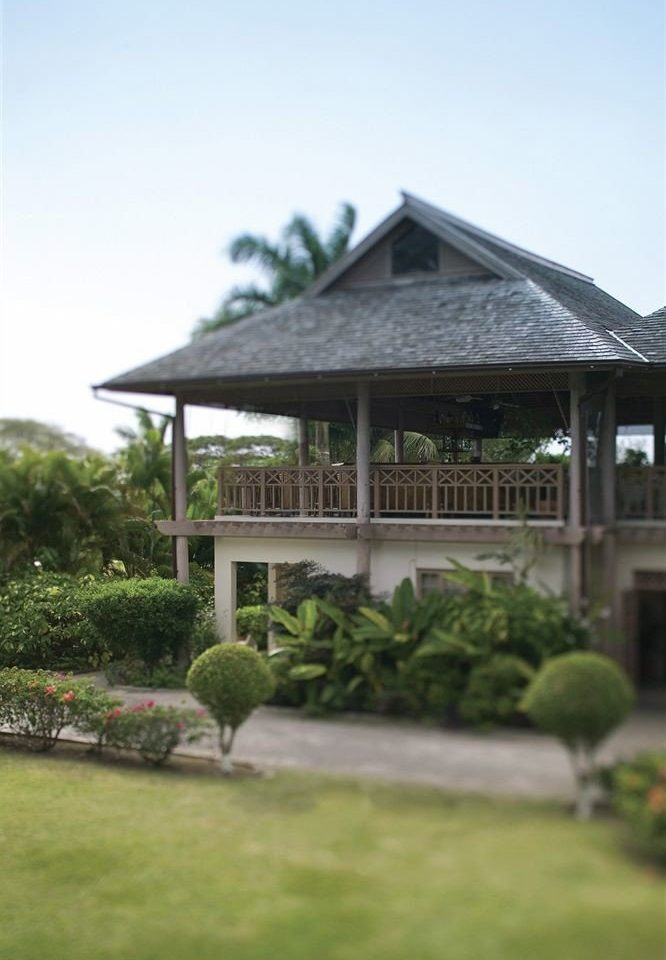 grass sky house building property home gazebo backyard outdoor structure cottage lawn Garden Villa yard roof