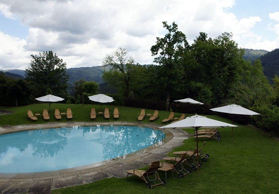 tree sky grass swimming pool leisure property backyard pond Villa lawn Garden lush