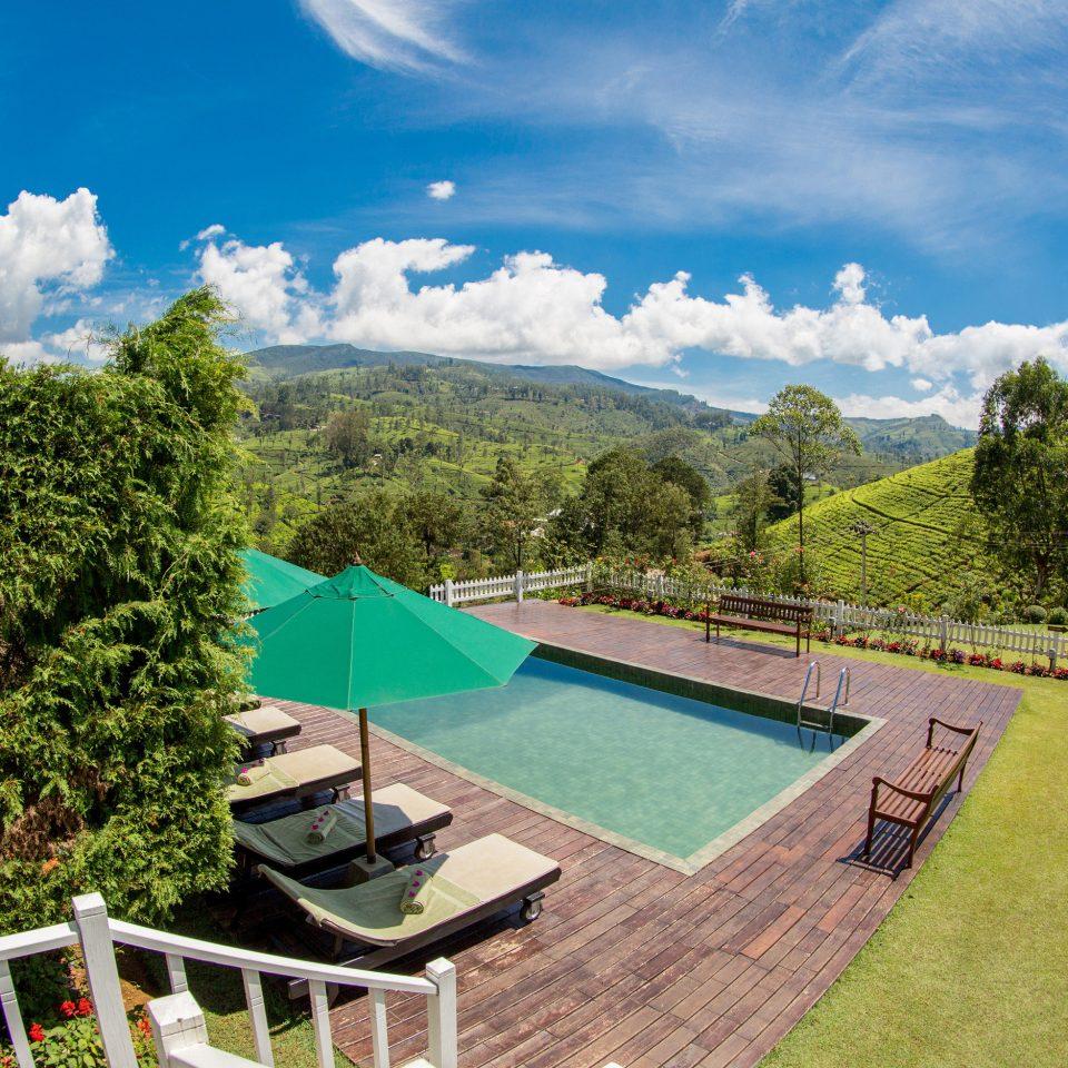 tree grass property green park Villa Garden mansion swimming pool lush