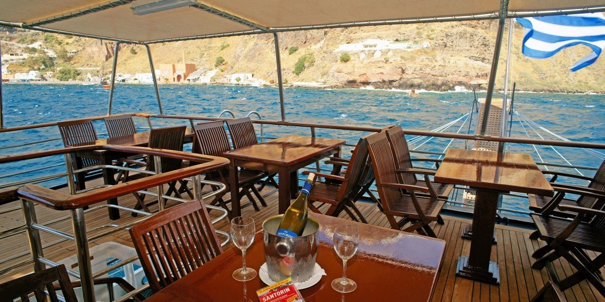 Trip Ideas chair leisure vehicle Boat passenger ship yacht ship watercraft restaurant Resort set dining table