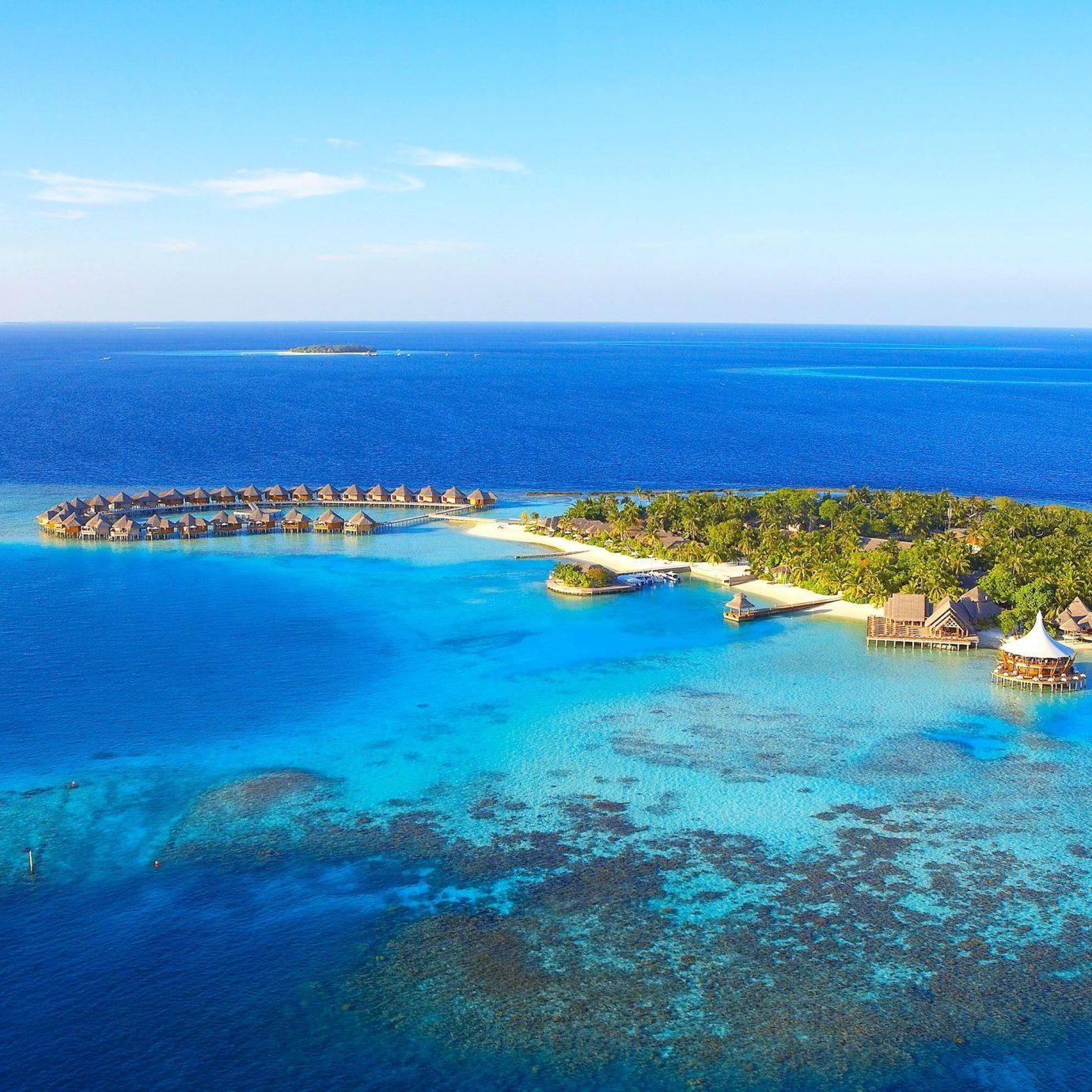 Trip Ideas water sky Nature blue reef Ocean outdoor geographical feature landform Sea archipelago horizon Coast islet caribbean Beach bay Island Lagoon cape atoll swimming Resort cove clear shore