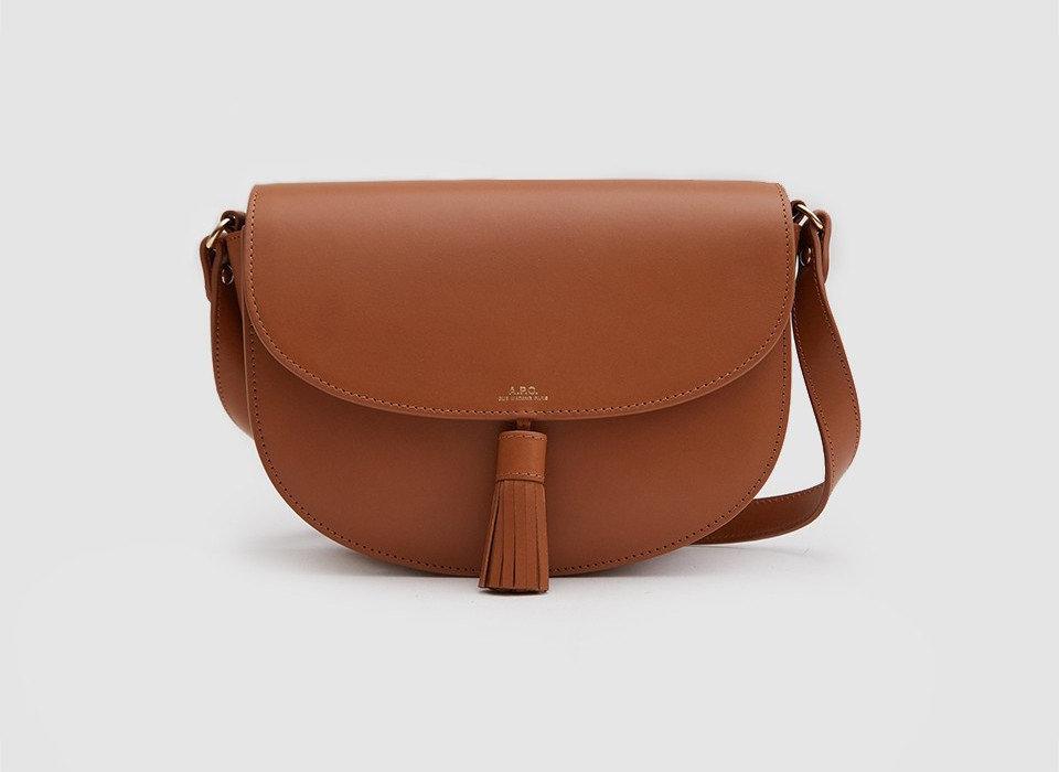 Style + Design Travel Shop bag brown leather accessory fashion accessory shoulder bag tan product handbag product design caramel color case peach strap beige messenger bag brand