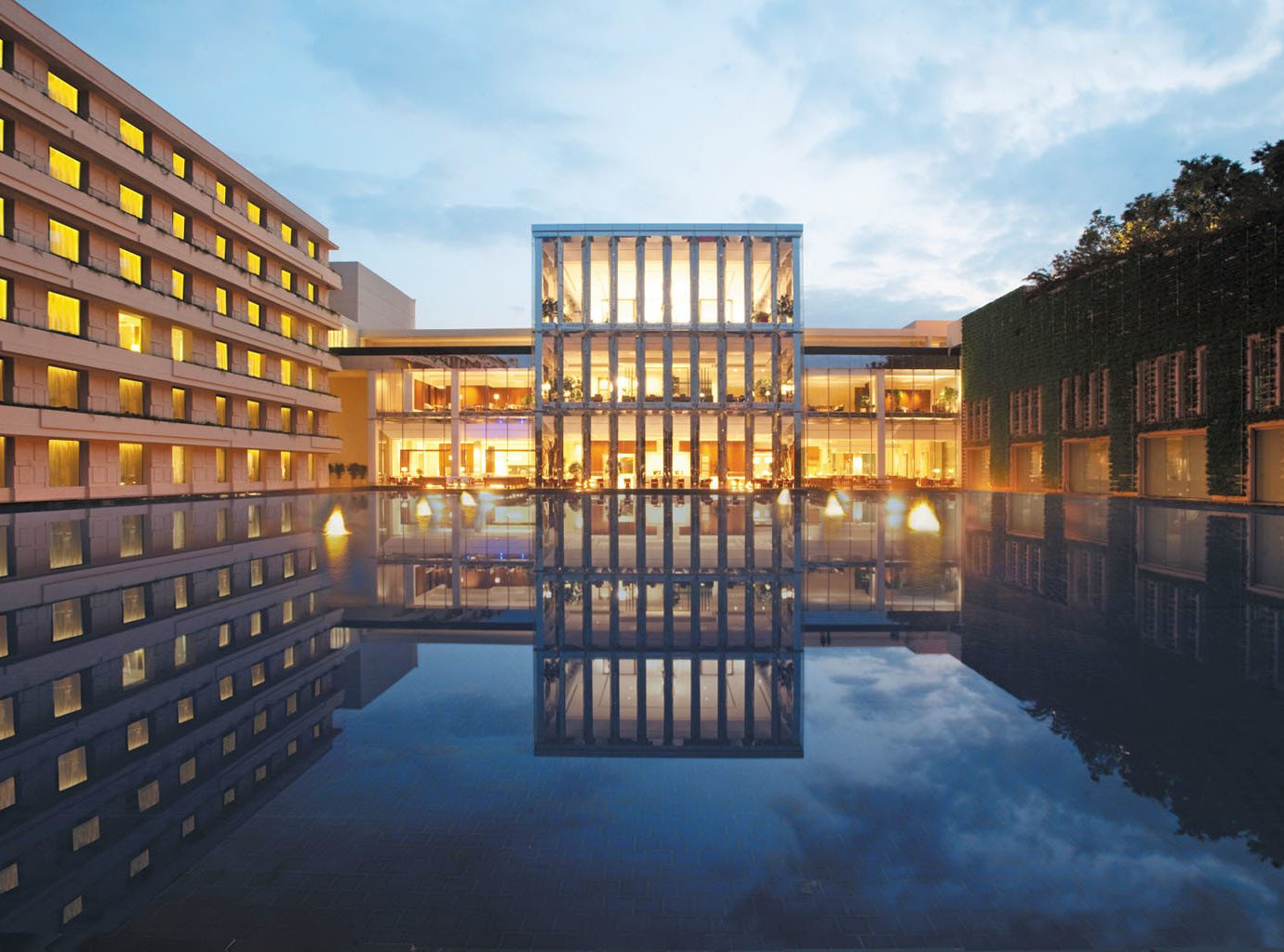 Hotels Luxury Travel Pool outdoor sky property building Architecture house reflection condominium estate facade palace