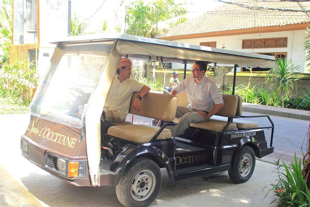 Golf cart transport vehicle cart golfcart rickshaw
