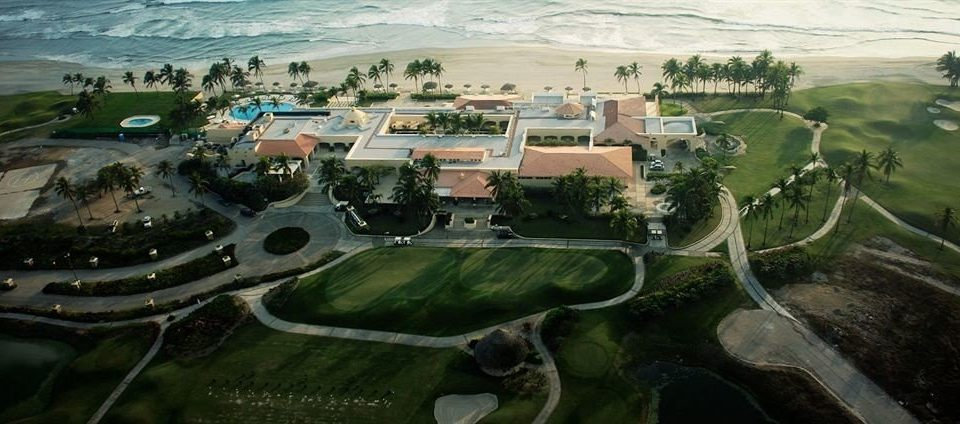 Golf Honeymoon Resort Sport Waterfront bird's eye view aerial photography structure photography residential area sport venue military vehicle mansion Nature screenshot stadium suburb panorama