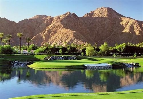 Golf Resort Scenic views mountain Nature structure Lake sport venue golf course golf club outdoor recreation sports recreation reservoir