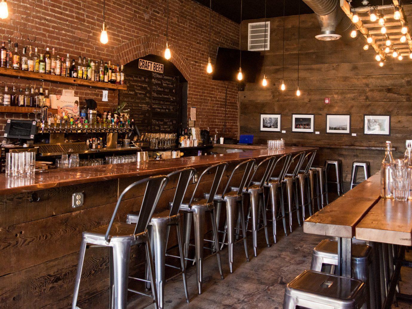 Road Trips Trip Ideas indoor Bar restaurant ceiling tavern interior design several dining room