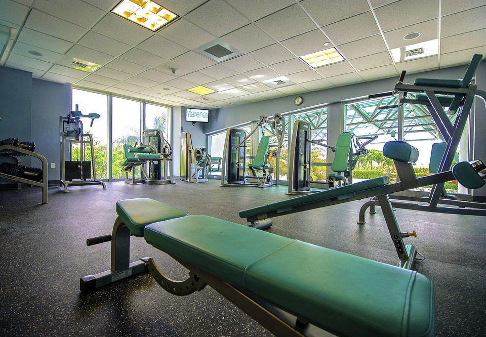green structure sport venue gym public transport