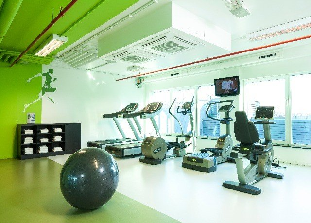 structure green sport venue gym