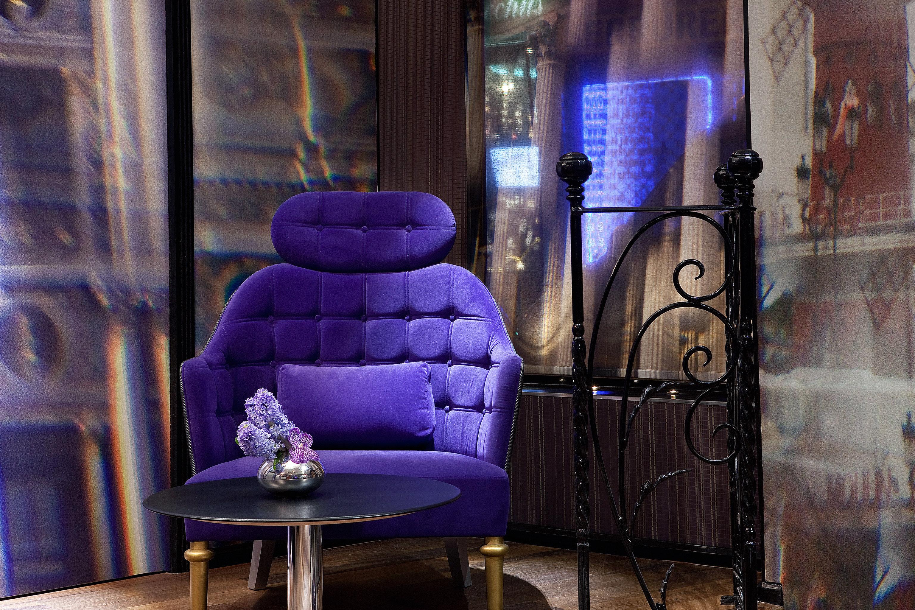 Grounds Hip Nightlife Play Romance Romantic color blue purple lighting screenshot display window living room chair theatre