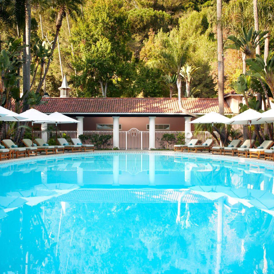Grounds Hotels Pool Wellness tree swimming pool leisure Resort resort town backyard Villa blue swimming