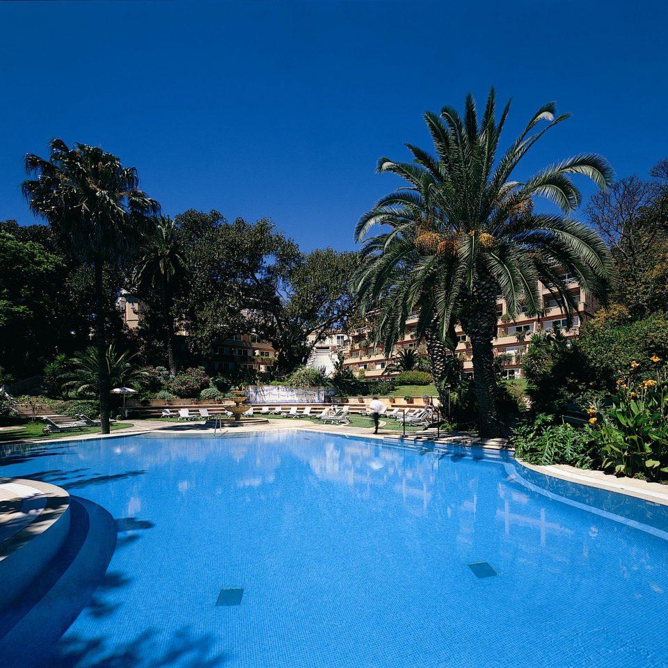 Grounds Play Pool Wellness tree sky swimming pool blue Resort swimming arecales Sea Lagoon tropics palm