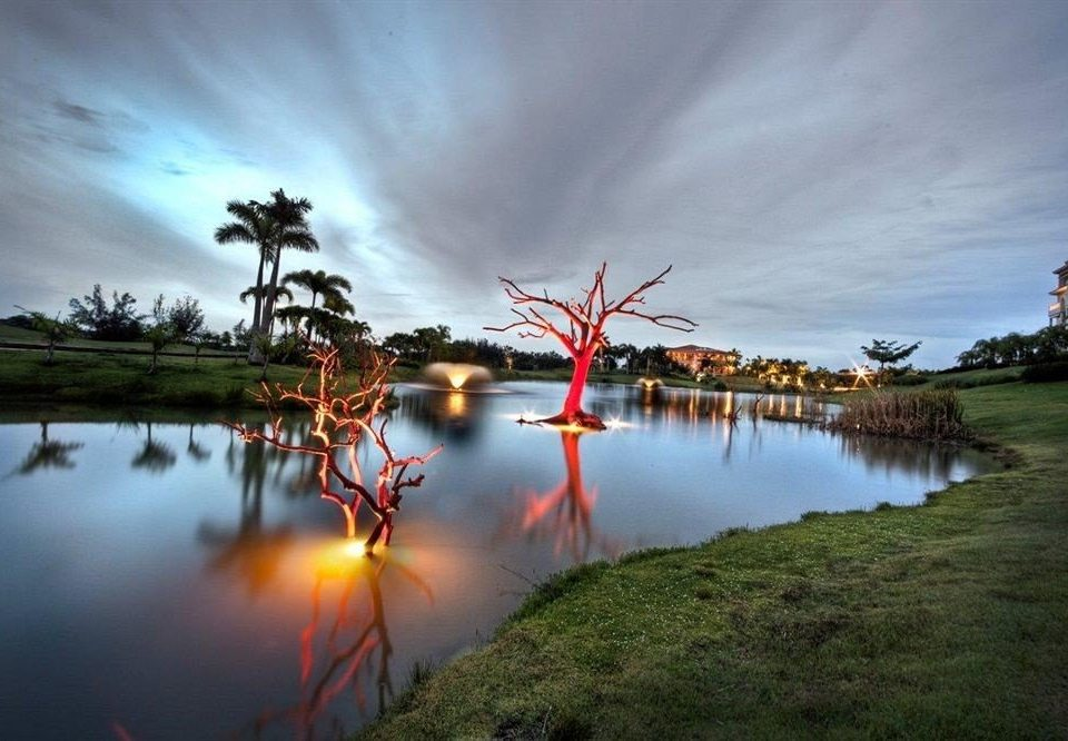 Grounds Luxury Resort Waterfront water sky grass Nature tree cloud morning evening dusk wetland flower wind Lake
