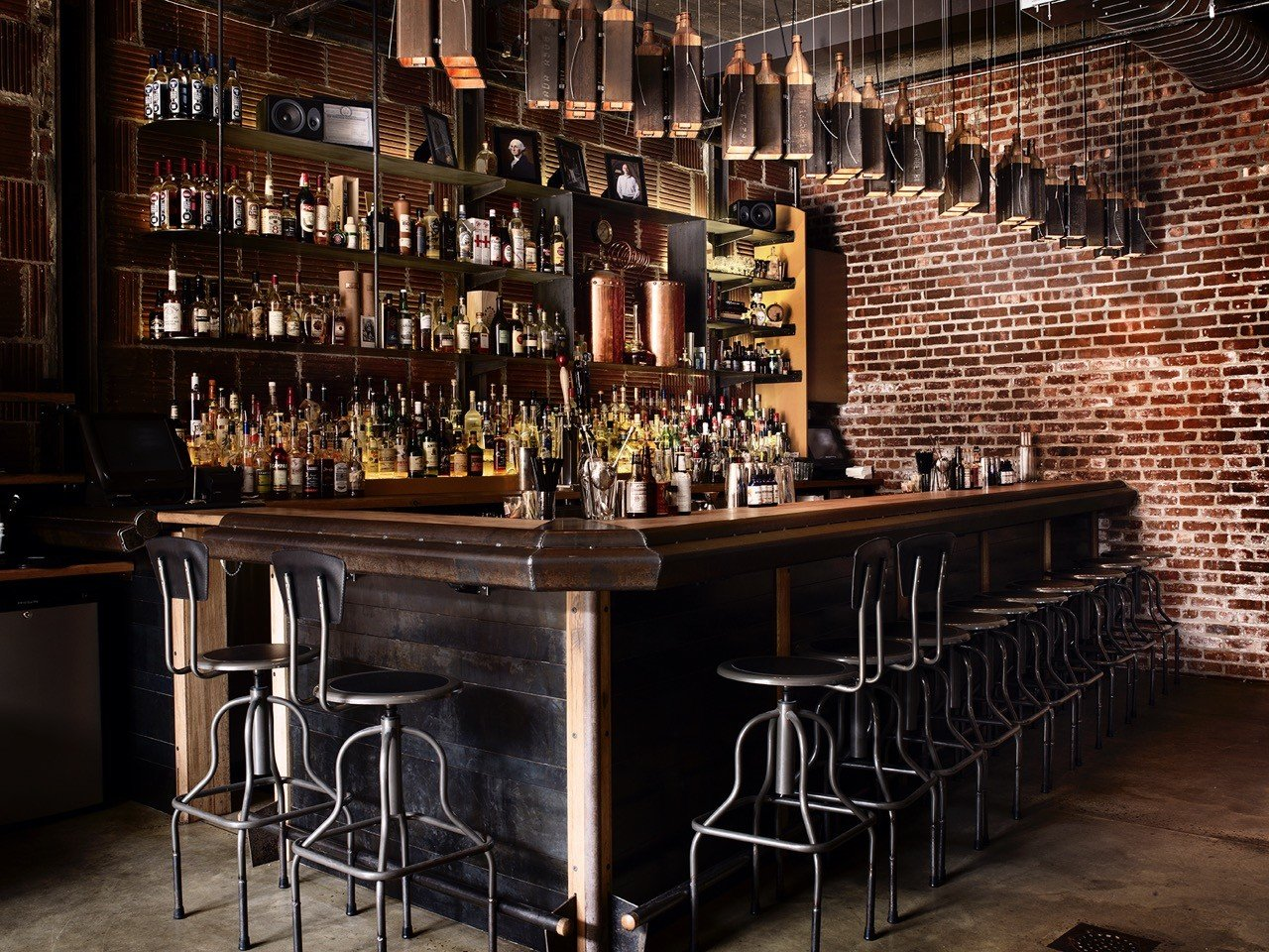 Brooklyn Food + Drink floor Bar interior design liquor store restaurant table tavern café pub store several dining room