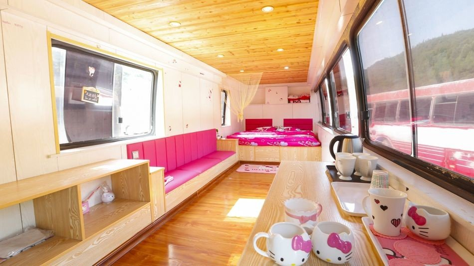 Offbeat indoor room vehicle luxury vehicle interior design yacht wood