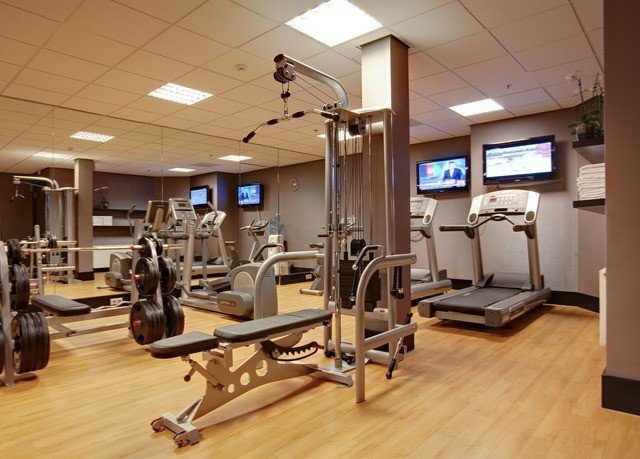 structure gym sport venue physical fitness hard