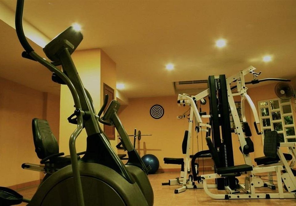 structure gym sport venue indoor cycling muscle physical fitness office