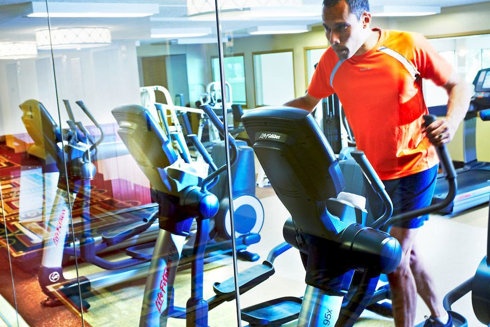 structure sport venue indoor cycling physical fitness gym office