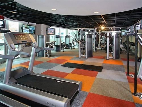 structure gym sport venue leisure centre physical fitness