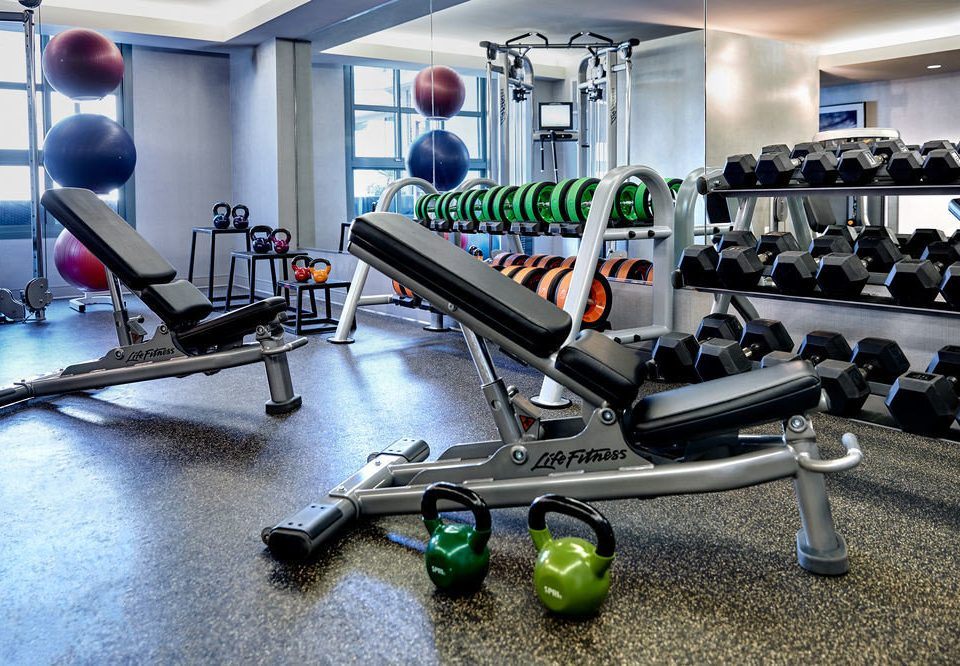 structure gym sport venue leisure muscle
